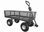 Small Platform Truck with Mesh Sides